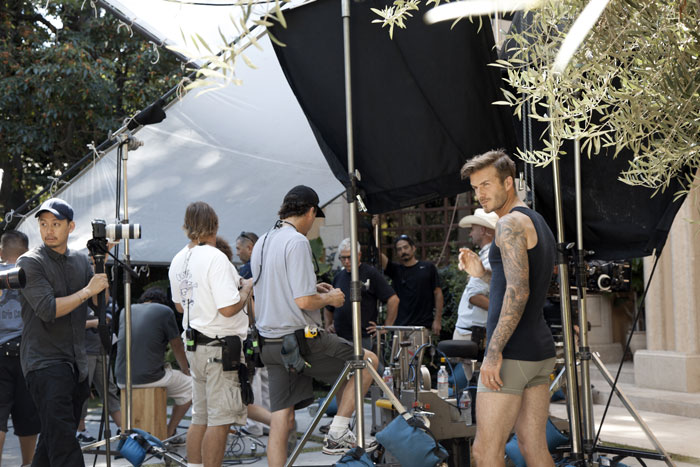 David Beckham Bodywear for H&M Film by Guy Ritchie