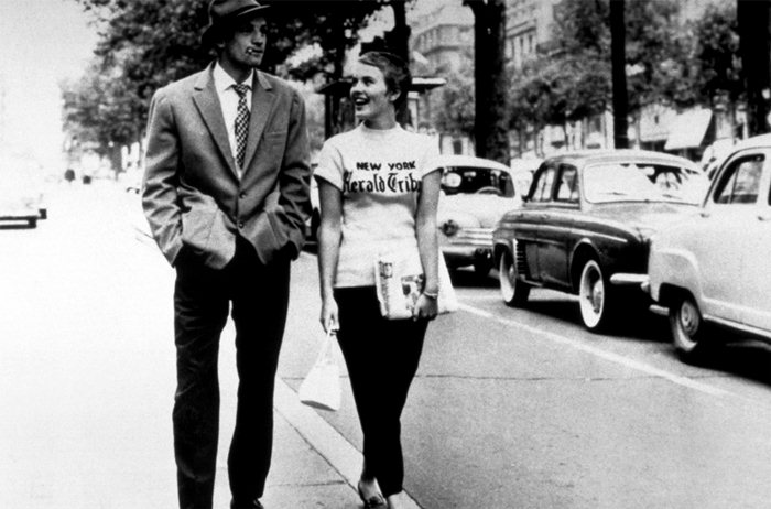 Breathless Jean Luc Godard And Seberg Chic