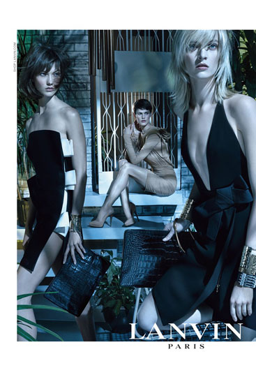 Lanvin Spring Summer 2013 Ad Campaign