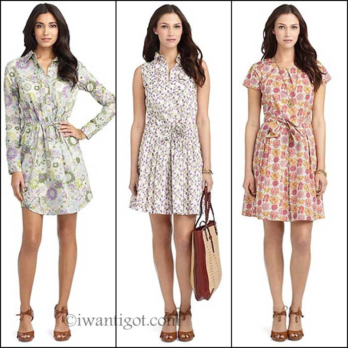 Brooks Brothers x Liberty London Dresses
