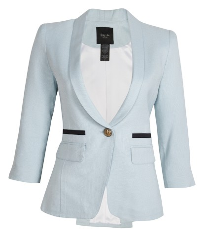 One Button Shawl Collared Blazer by Smythe