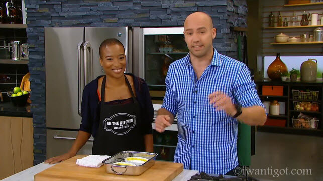 Anita Clarke on CBC's In The Kitchen with Stefano Faita