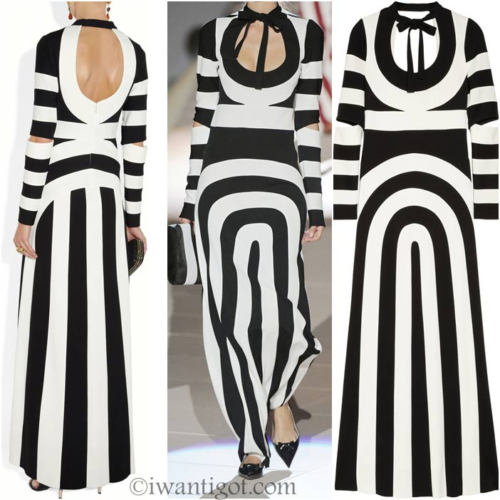Striped Maxi Dress by Marc Jacobs
