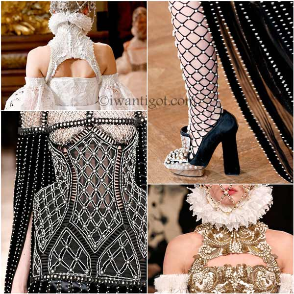 Alexander McQueen Fall Winter 2013 - 2014