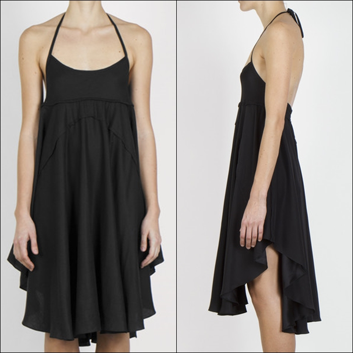 Oval Slip Dress by complexgeometries