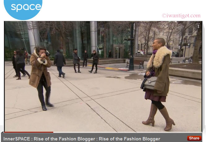 InnerSPACE: Rise of the Fashion Blogger