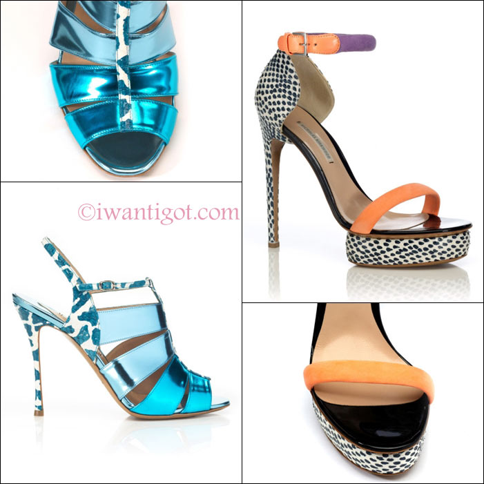 Spring Summer 2013 Sandals by Nicholas Kirkwood