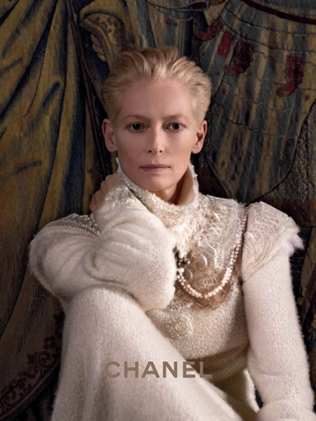 Tilda Swinton x Chanel Pre Fall 2013 - Paris-Edimbourg Ad Campaign