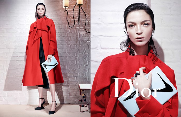 Christian Dior Fall Winter 2013 - 2014 Ad Campaign