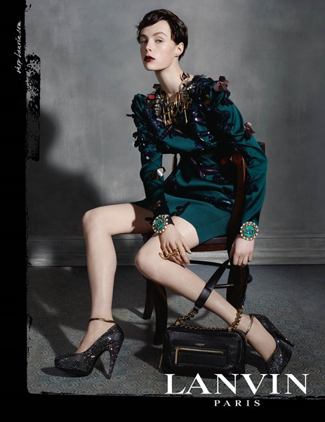 Lanvin Fall - Winter 2013 -2014 Ad Campaign
