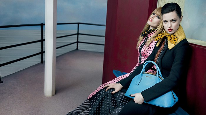 Miu Miu Fall - Winter 2013 - 2014 Ad Campaign