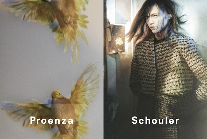 Proenza Schouler Fall Winter 2013 - 2014 Ad Campaign