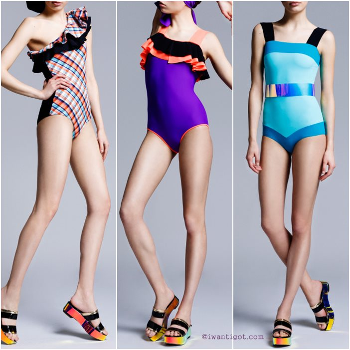 Roksanda Ilincic Resort 2014 Swimwear