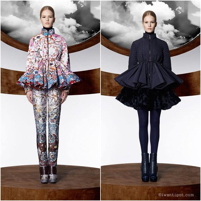 Mary Katrantzou x Moncler Fall 2013 - 2014