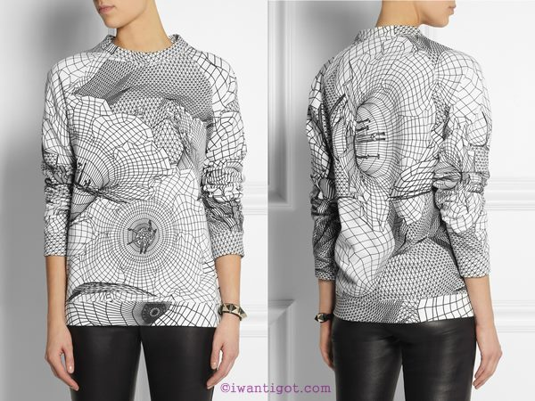 I want - I got's Holiday Gift Guide - Christopher Kane Sweatershirt