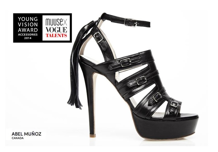 Vote for Abel Muñoz in MUUSE x Vogue Talents Young Vision Accessories Award 2014