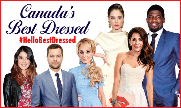 HELLO! Canada's Best Dressed 2014