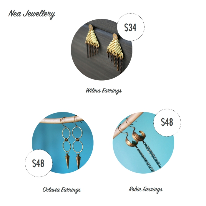 I want - I got 2016 Holiday Gift Guide - Nea Jewellery