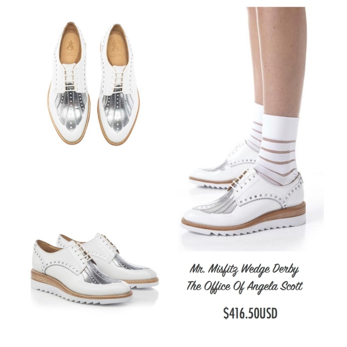 I want - I got 2016 Holiday Gift Guide - The Office Of Angela Scott - Mr. Misfitz Wedge Derby