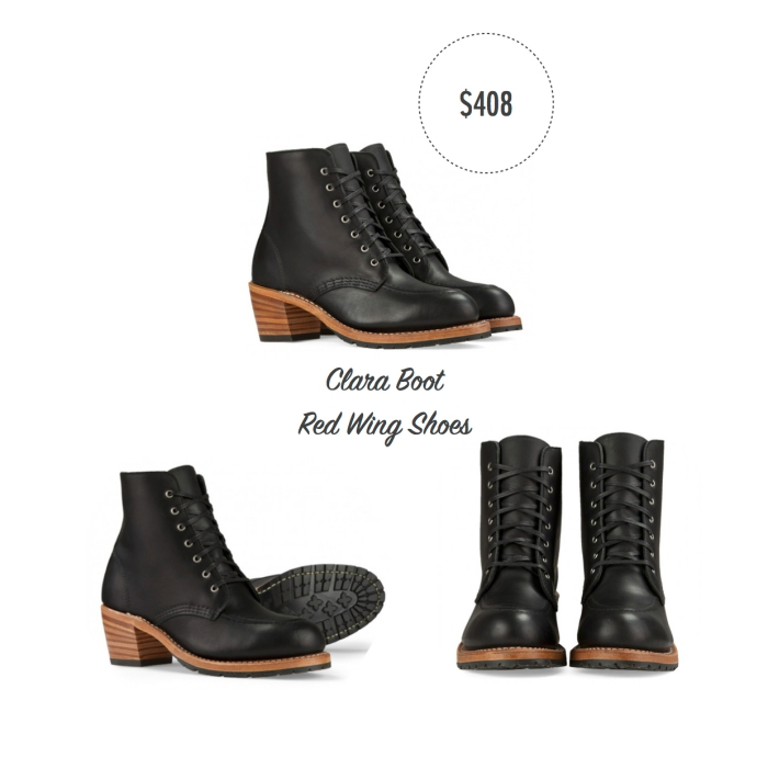 I want - I got 2016 Holiday Gift Guide - Clara Boot - Red Wing Shoes