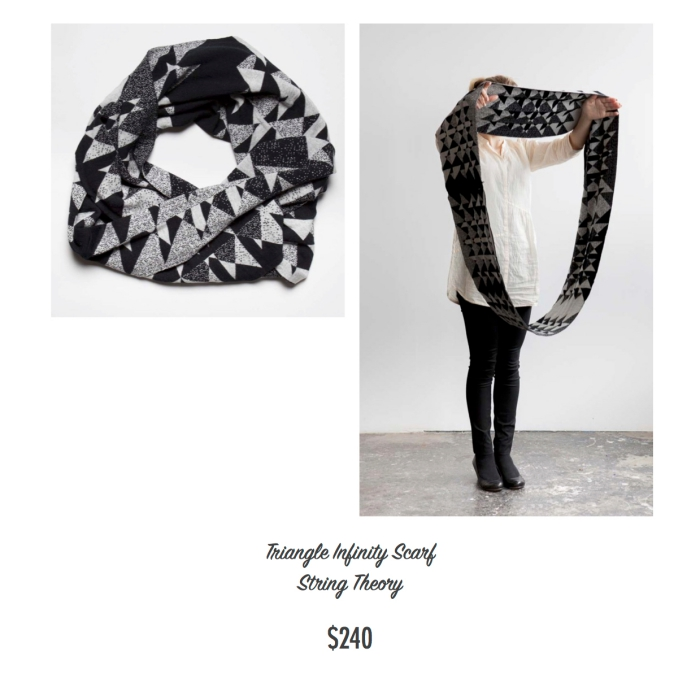 I want - I got 2016 Holiday Gift Guide - String Theory - Infinite Scarf