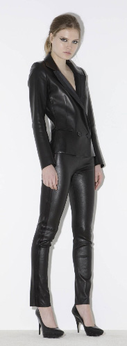 i want: Jean Claude Jitrois leather pants