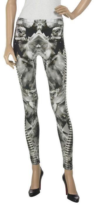 e90bd9e73edd7 Skeleton-print Lycra leggings, Crystal print leggings, Eiffel Tower leggings,  Alexander McQueen Eiffel Tower top