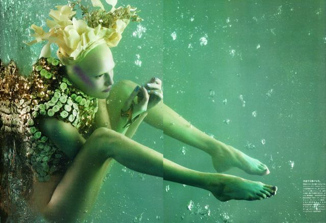 Vogue Nippon May 2010 - The Girl From Atlantis