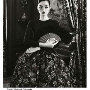 Harper's Bazaar China - October 2012