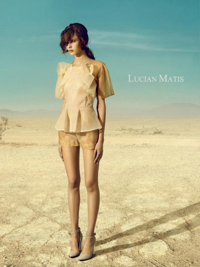 Lucian Matis Spring Summer 2013 Ad Campaign