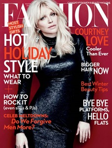 FASHION Magazine Winter 2014 - Courtney Love