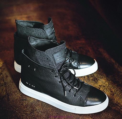 Sully Wong x Amanda Lew Kee Swalk Hi Sneaker